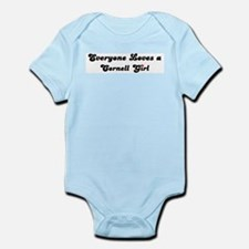 Cornell girl Infant Creeper