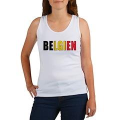 Belgium (German) Women's Tank Top
