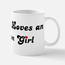 Anderson girl Mug