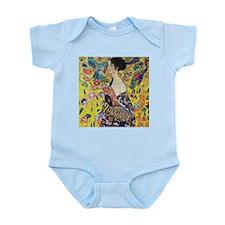 Gustav Klimt Lady With Fan Infant Bodysuit