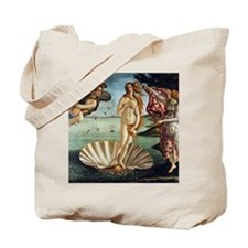 Sandro Botticelli Birth Of Venus Tote Bag