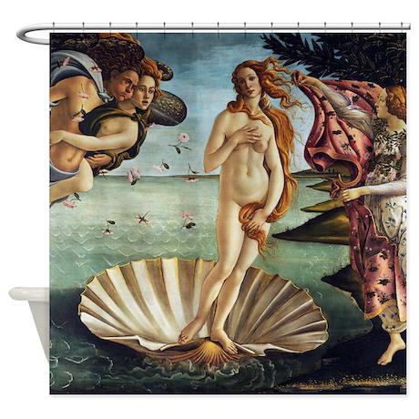 Sandro Botticelli Birth Of Venus Shower Curtain