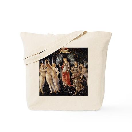 Sandro Botticelli Primavera Tote Bag