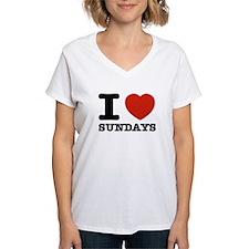 I Love Sundays Shirt