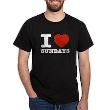 I Love Sundays T-Shirt