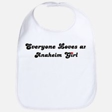 Anaheim girl Bib