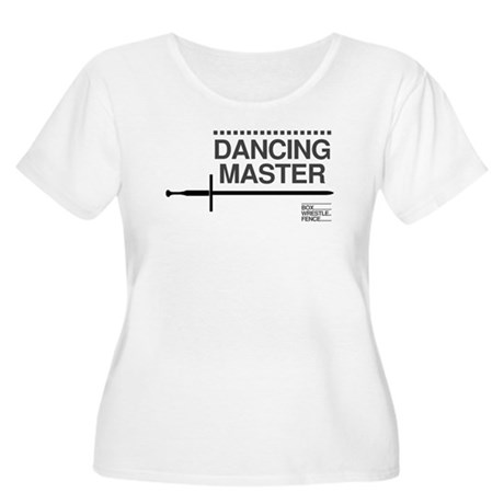 Dancing Master Women's Plus Size Scoop Neck T-Shir