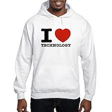 I Love Technology Jumper Hoodie