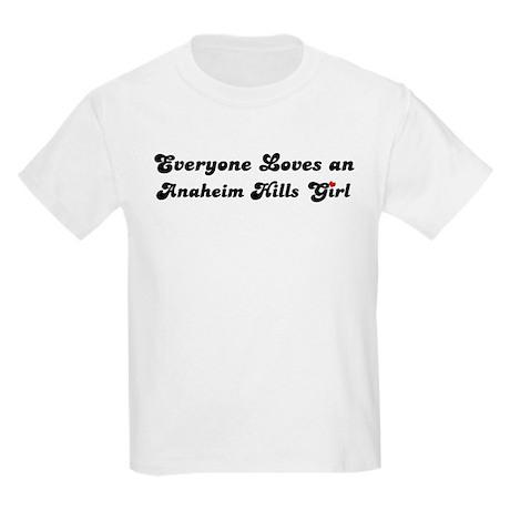 Anaheim Hills girl Kids T-Shirt