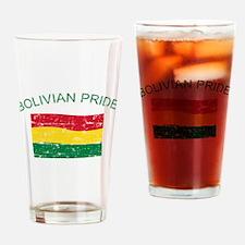 Bolivian Pride Drinking Glass