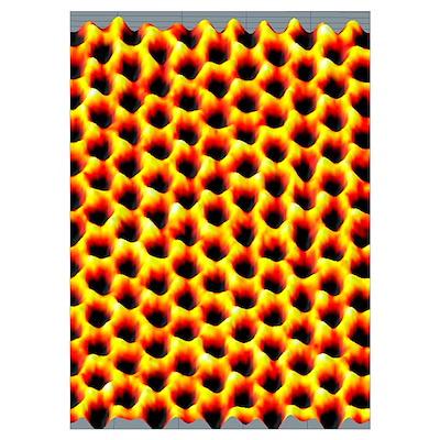 Graphene, 3D TEM Poster