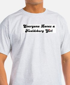 Healdsburg girl Ash Grey T-Shirt