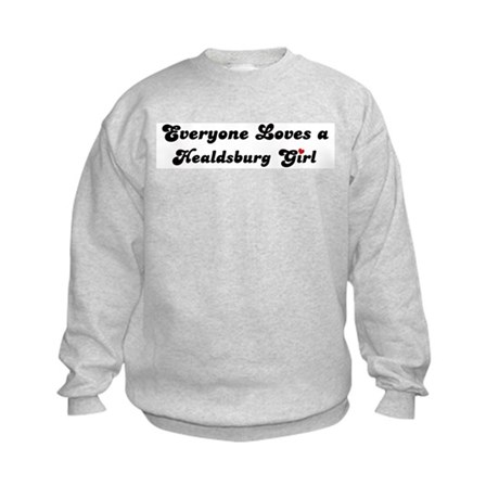 Healdsburg girl Kids Sweatshirt