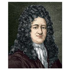 Gottfried Leibniz, German mathematician Poster