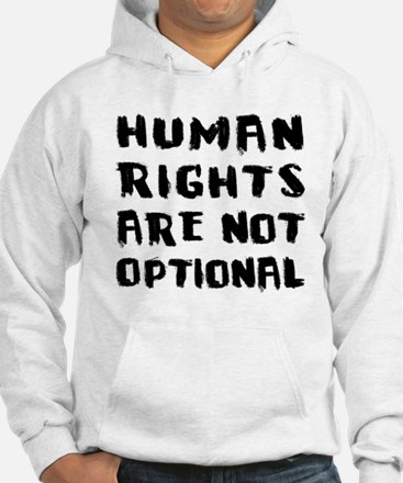 Human Rights Are Not Optional Jumper Hoody