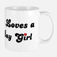 Bodega Bay girl Mug