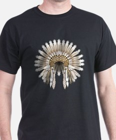 Native War Bonnet 05 T-Shirt
