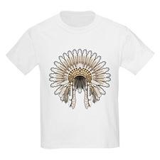Native War Bonnet 05 T-Shirt