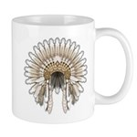 Native War Bonnet 05 Mug