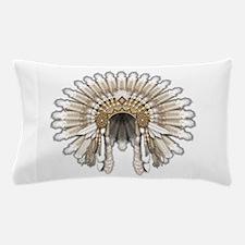 Native War Bonnet 05 Pillow Case