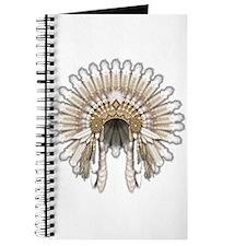 Native War Bonnet 05 Journal