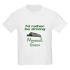 Monorail Green Large Logo T-Shirt