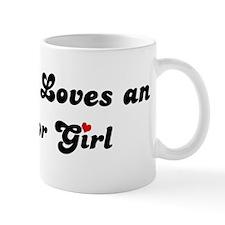 Almanor girl Mug