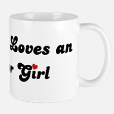 Almanor girl Mug