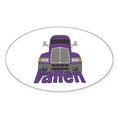 Trucker Vallen Decal
