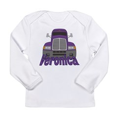 Trucker Veronica Long Sleeve Infant T-Shirt