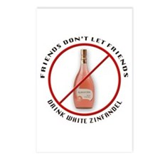 No White Zin! Postcards (Package of 8)