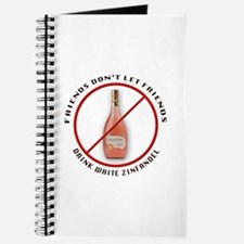 No White Zin! Journal
