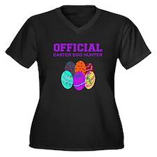 got eggs? Women's Plus Size V-Neck Dark T-Shirt
