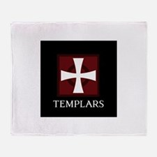 Templar Logo Throw Blanket