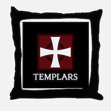 Templar Logo Throw Pillow