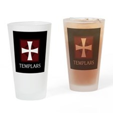 Templar Logo Drinking Glass