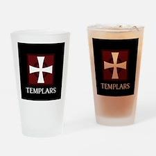 Templar Logo Drinking Glass