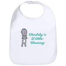 Daddy's Little Bunny Bib