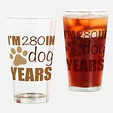 Funny 40th birthday men Drinking Glass