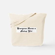 Bishop girl Tote Bag