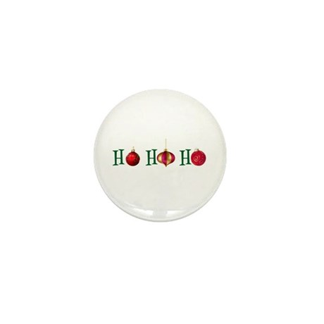 Ho Ho Ho Mini Button