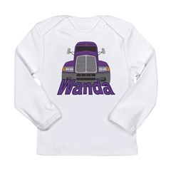Trucker Wanda Long Sleeve Infant T-Shirt