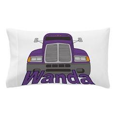 Trucker Wanda Pillow Case
