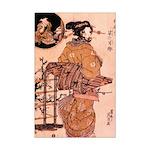 Geisha Italian Greyhound Mini Poster Print