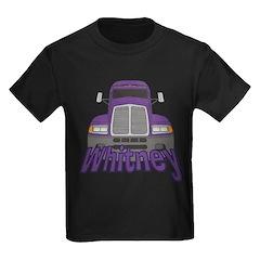 Trucker Whitney Kids Dark T-Shirt
