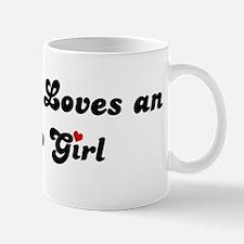 Alamo girl Mug