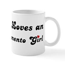 East Sacramento girl Mug