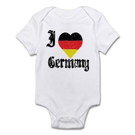 I Love Germany Infant Creeper
