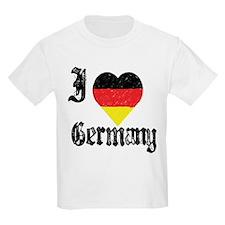 I Love Germany Kids T-Shirt