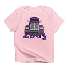 Trucker Zoey Infant T-Shirt